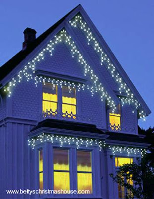Arquitectura de casas decoraci n de navidad - Luces exterior navidad ...