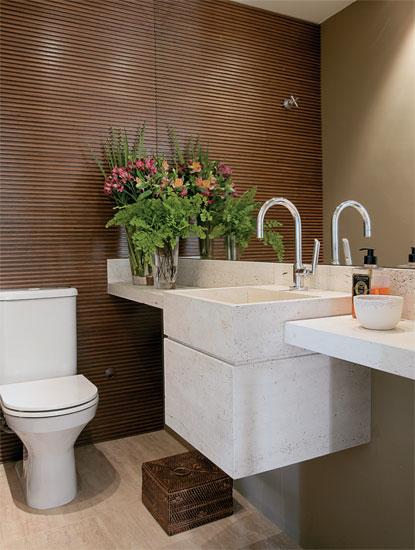 decoracao em lavabos:Hora de Arrumar: Lavabos com estilo!