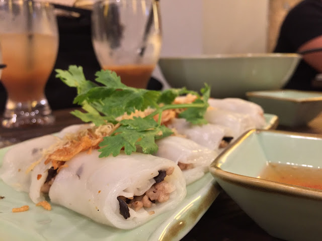 Tonkin Vietnamese Noodle Bar - Rice Flour Rolls with Pork