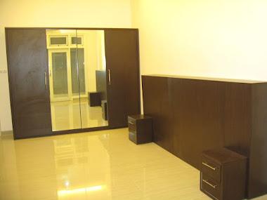 Kamar Set,Lemari pakain+ kaca cermin,kepala Ranjang , Pantai Indah Kapuk