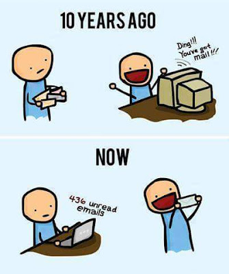 Zaman surat menyurat hampir pupus