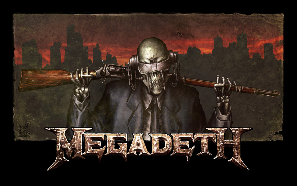 megadeth wallpaper all about music