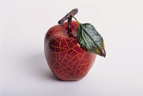 flash fiction thriller red apple falling apart