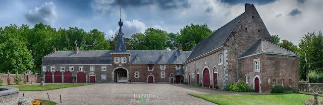 de stallen van kasteel Eijsden