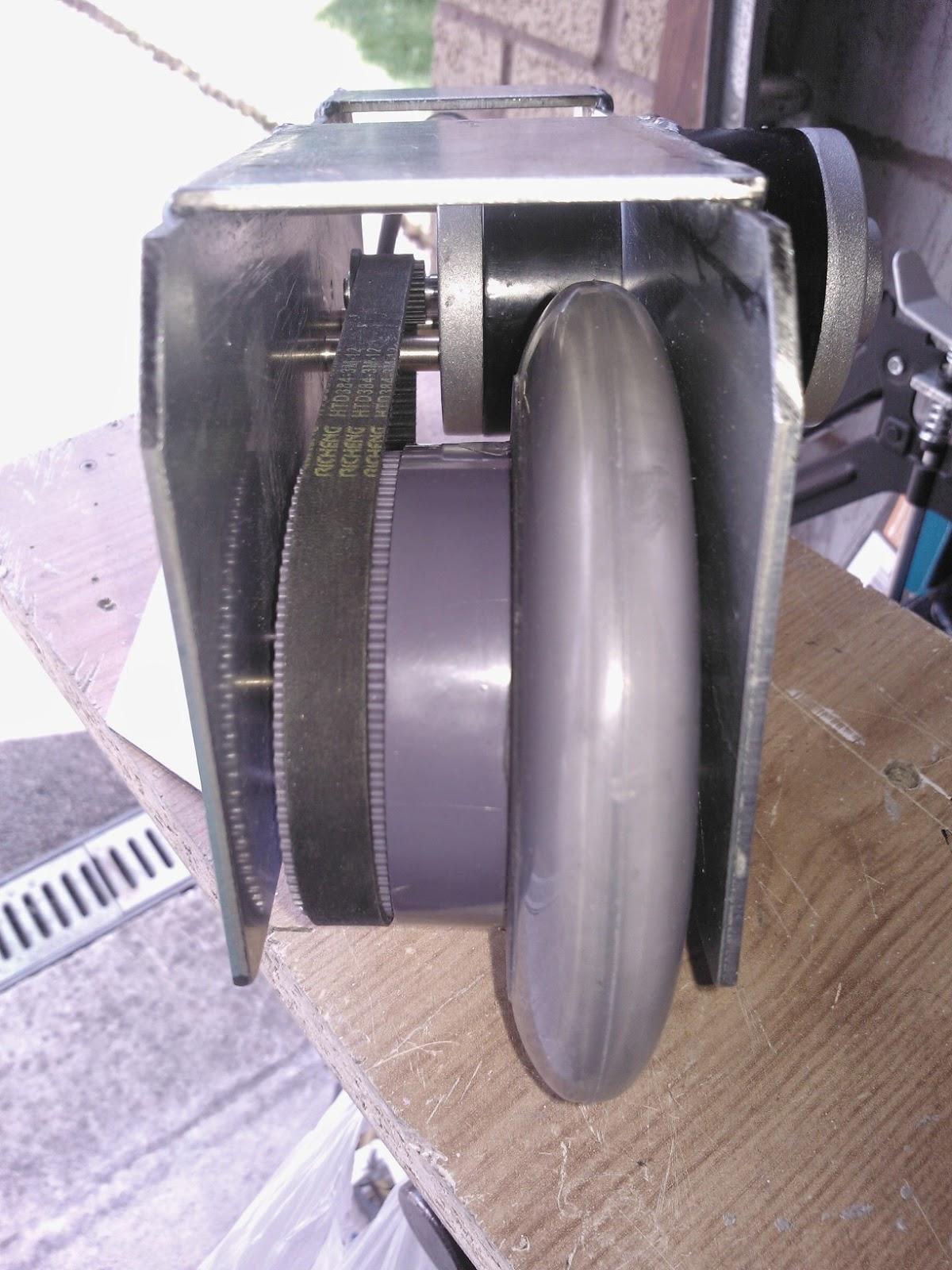 R5D4 - Outer Feet Motor Assy