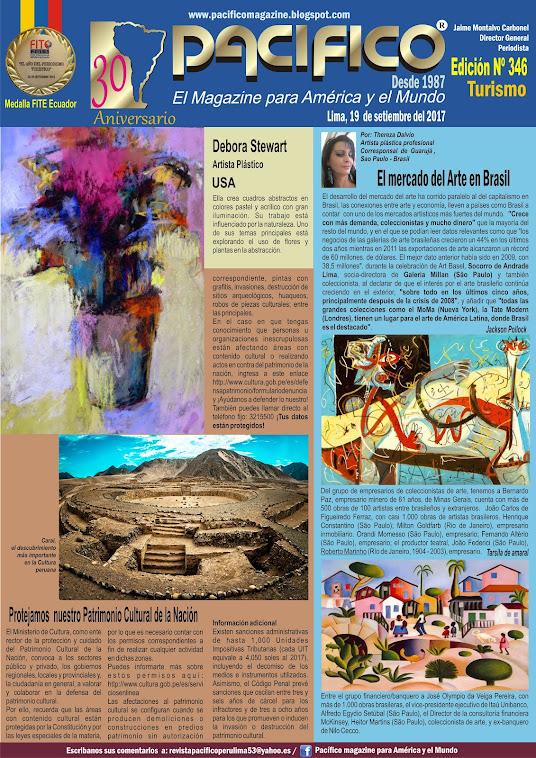 Revista Pacífico Nº 346 Turismo