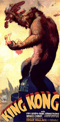 King Kong (1933 film) Original theatrical poster clip art