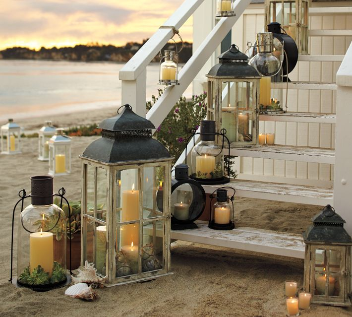 using lanterns in home decor