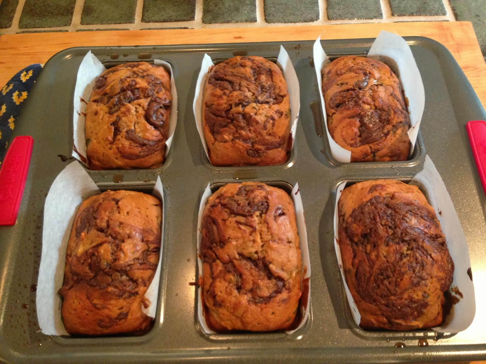 Burnt Toast Diaries: Hazelnut Nutella Zucchini Bread