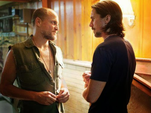 Woody Harrelson and Christian Bale in Out of the Furnace