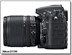Nikon D7100 отличается от Nikon D7000 более быстрым процессором