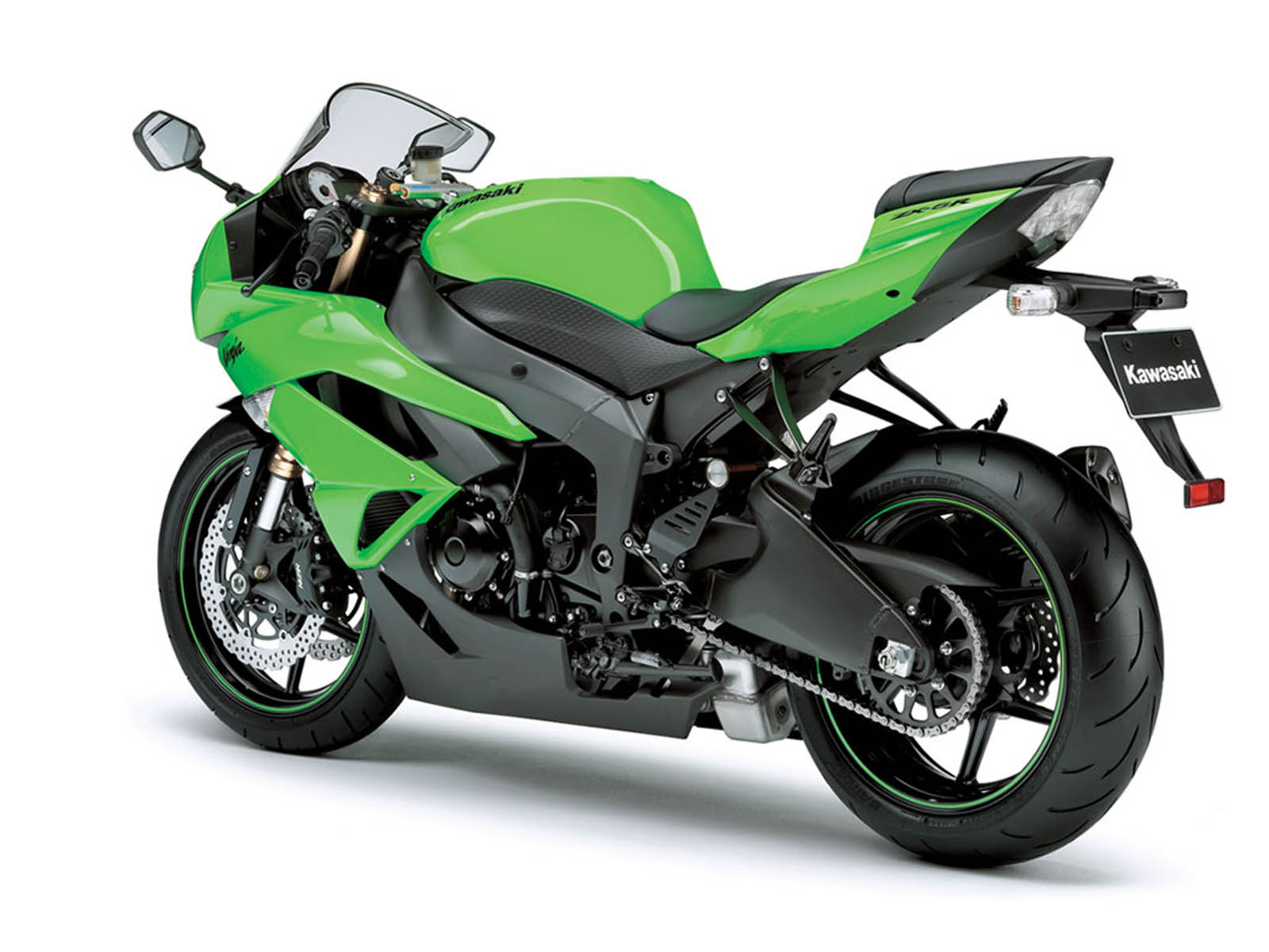 You Are Watching The Kawasaki Ninja ZX 6R Bike Wallpapers Desktop Backgrounds