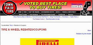 Town Fair Tire Coupons