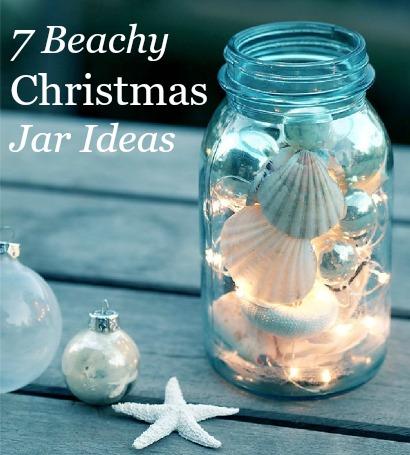 Christmas Jar with LED lights