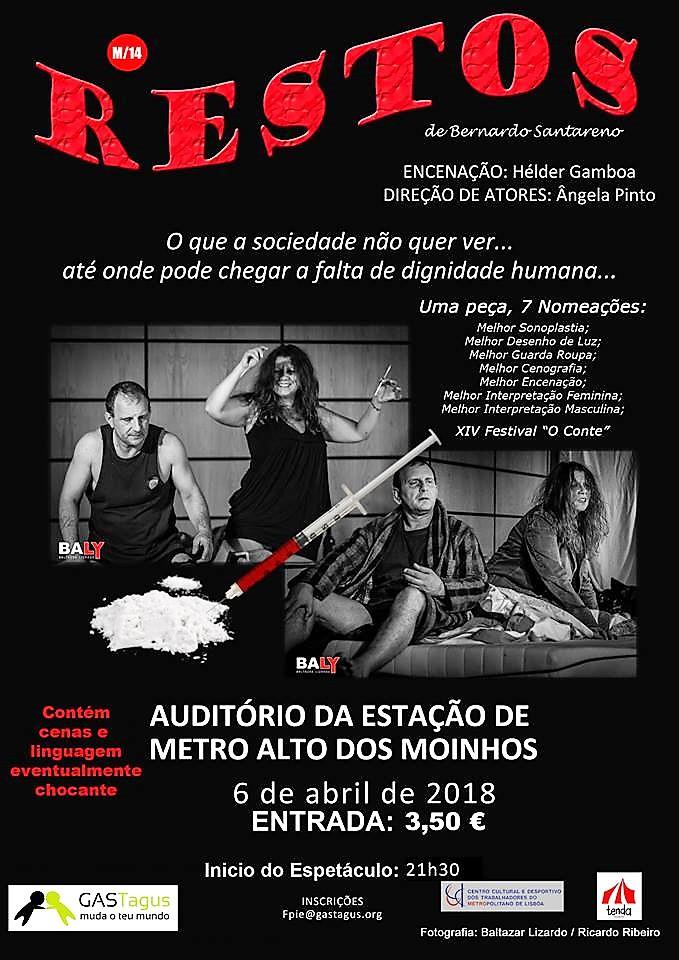 6 de abril, 21h30: Lisboa