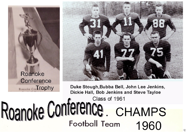 1960 Aulander Football Champions