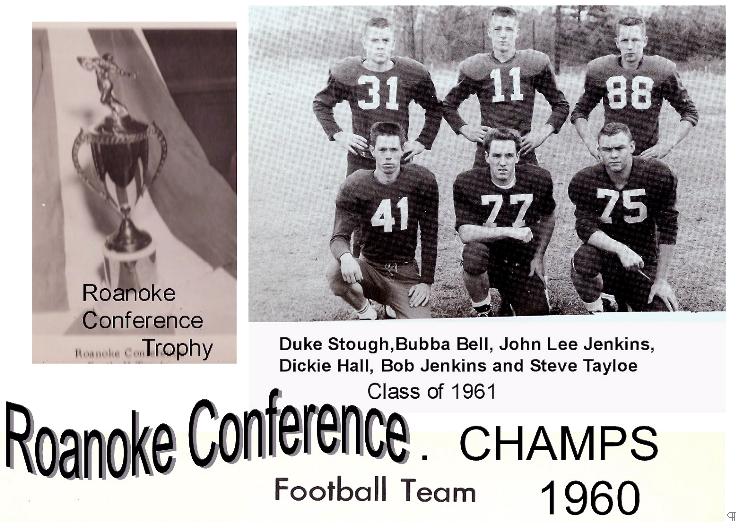 1960 Aulander Football Champions