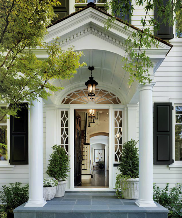 1000 images about welcome on pinterest front entry for Classic house design exterior