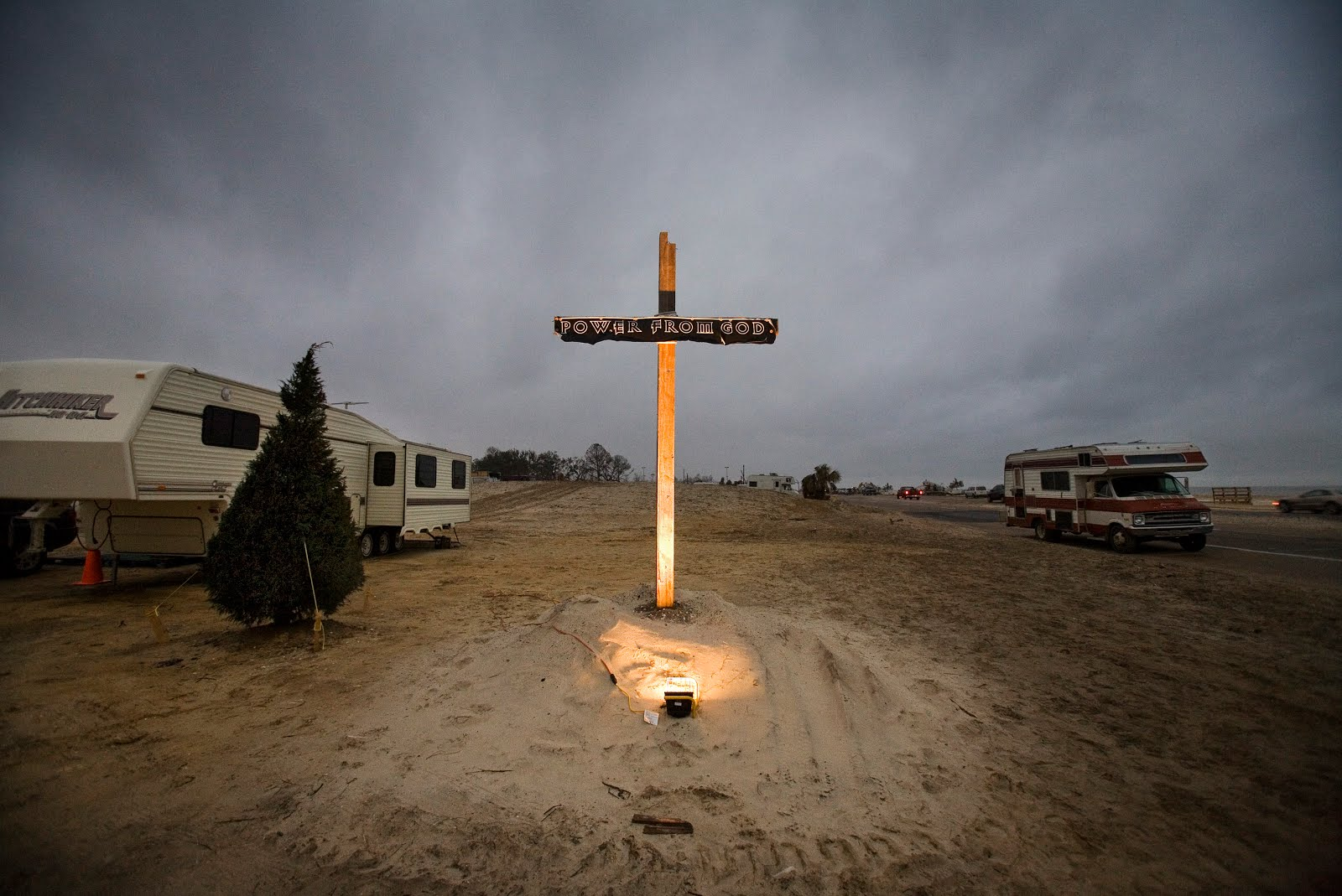 After The Flood: Mississippi Tent Revival Cross
