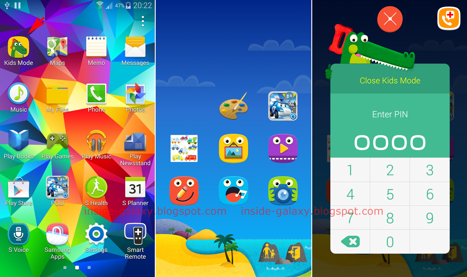Samsung Galaxy S5 How To Install Configure And Use Kids Mode In
