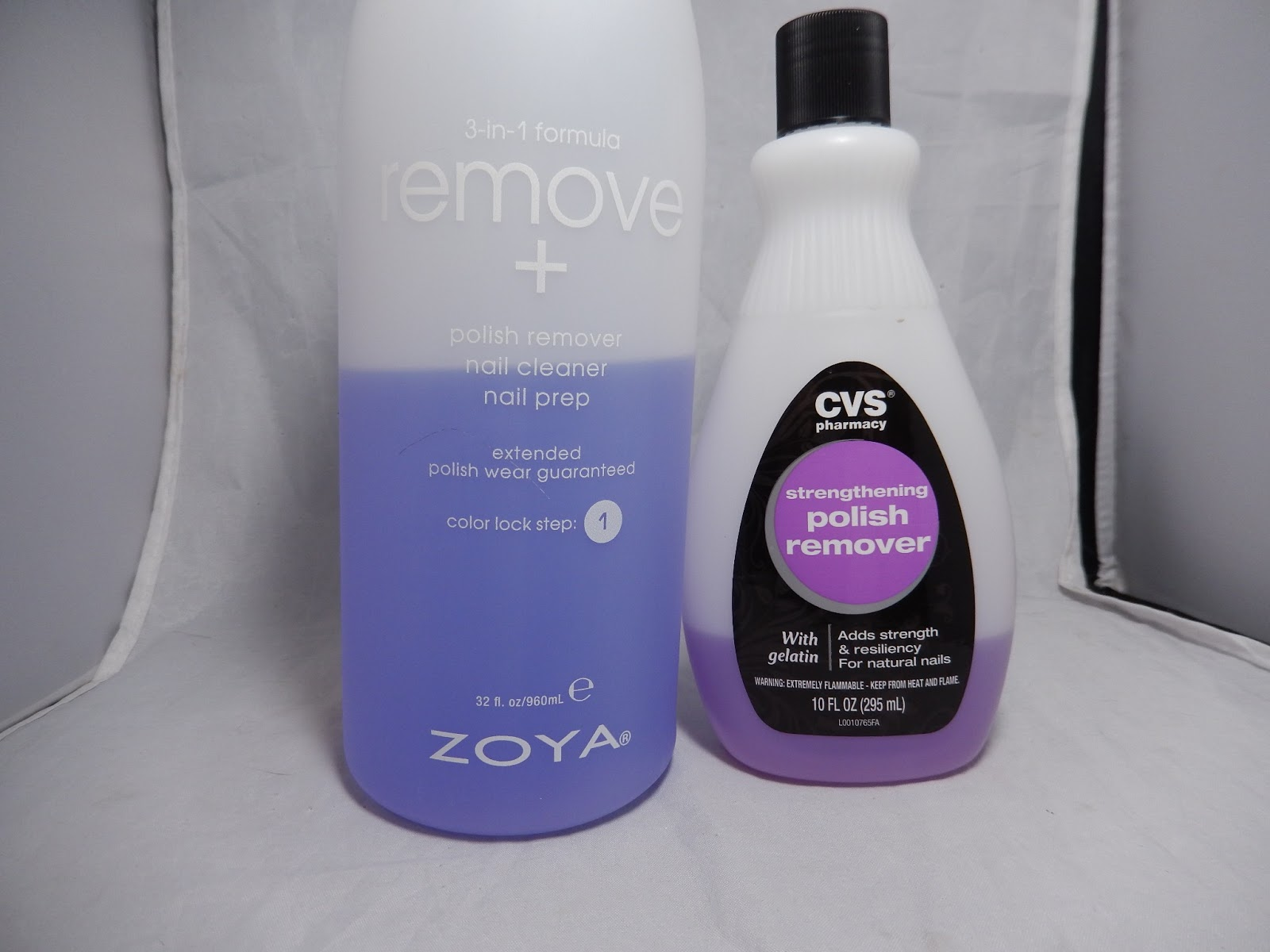 Lacquer or Leave Her!: Putting it to the test: Zoya Remove+ vs ...