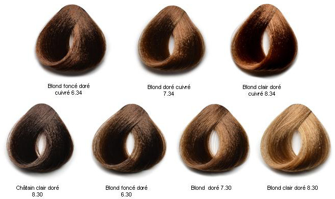 Couleur cheveux 6 34