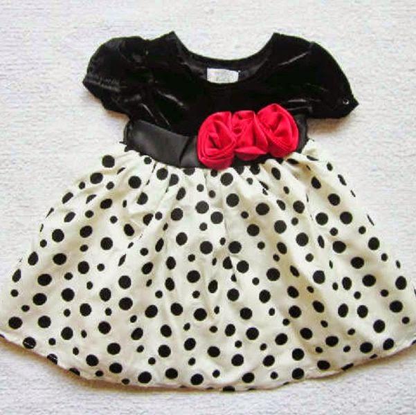 Contoh model baju pesta korea untuk anak perempuan