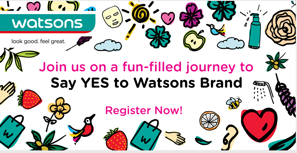 Say YES to Watsons Brand
