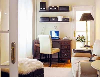 Hogares frescos c mo ubicar un despacho en el sal n - Decoracion de despachos ...
