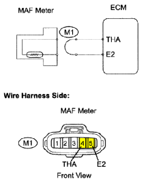 toyota maf sensor wiring diagram toyota free wiring diagrams 2007 Tacoma Ecm Wiring Diagram iat sensor performance chip installation procedure 2007 2012 toyota maf Cummins M11 ECM Wiring Diagram