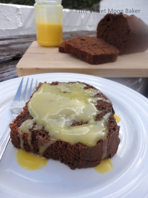 Spiced Chocolate Orange Loaf Cake