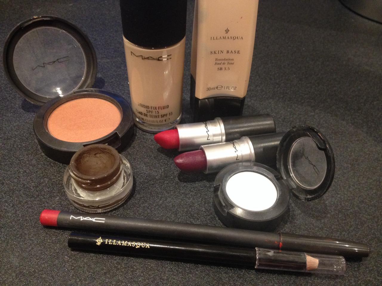 Illasmasqua, Mac, makeup