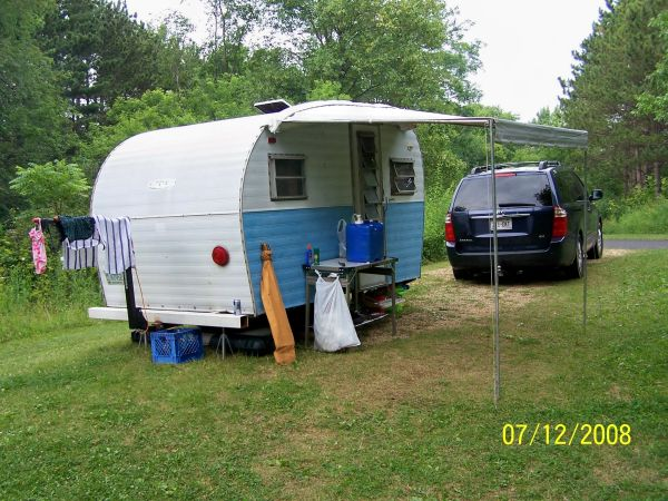 A Couple From The Madison, WI Area Are Moving...and Need To Sell Her. They  Actually Have Her All Fixed Up For Camping, But This Of The Cuteness ...