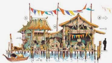Angkor atracción interactiva