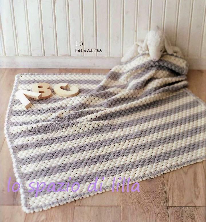 plaid en tricot