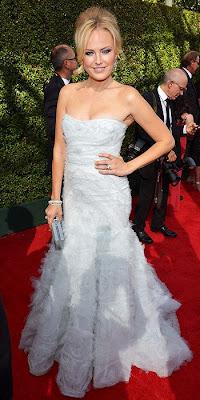 Malin Akerman, 2013 Emmys, red carpet, awards show