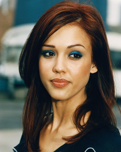 Alba ever , and one of the reasons is her crazy-rich brown hair color