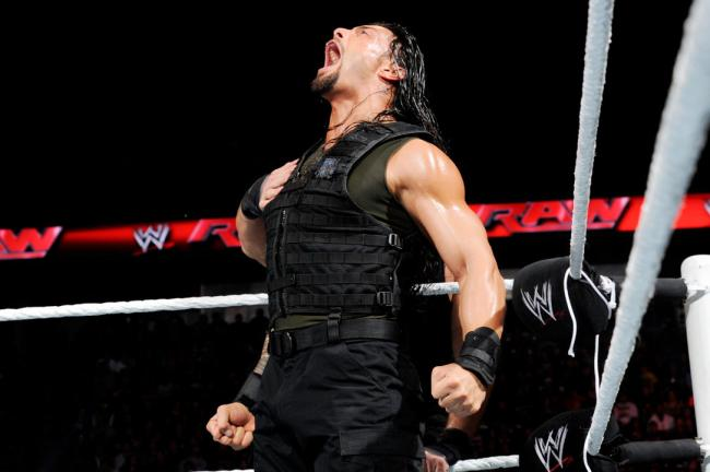 Roman Reigns Superman Punch WWE RAW Big Show Royal Rumble