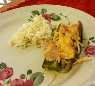 gluten free crock pot chicken stuffed chiles