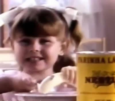 Propaganda da Farinha Láctea Nestlé - 1987