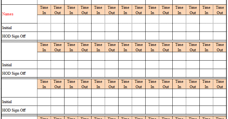 attendance register in excel format