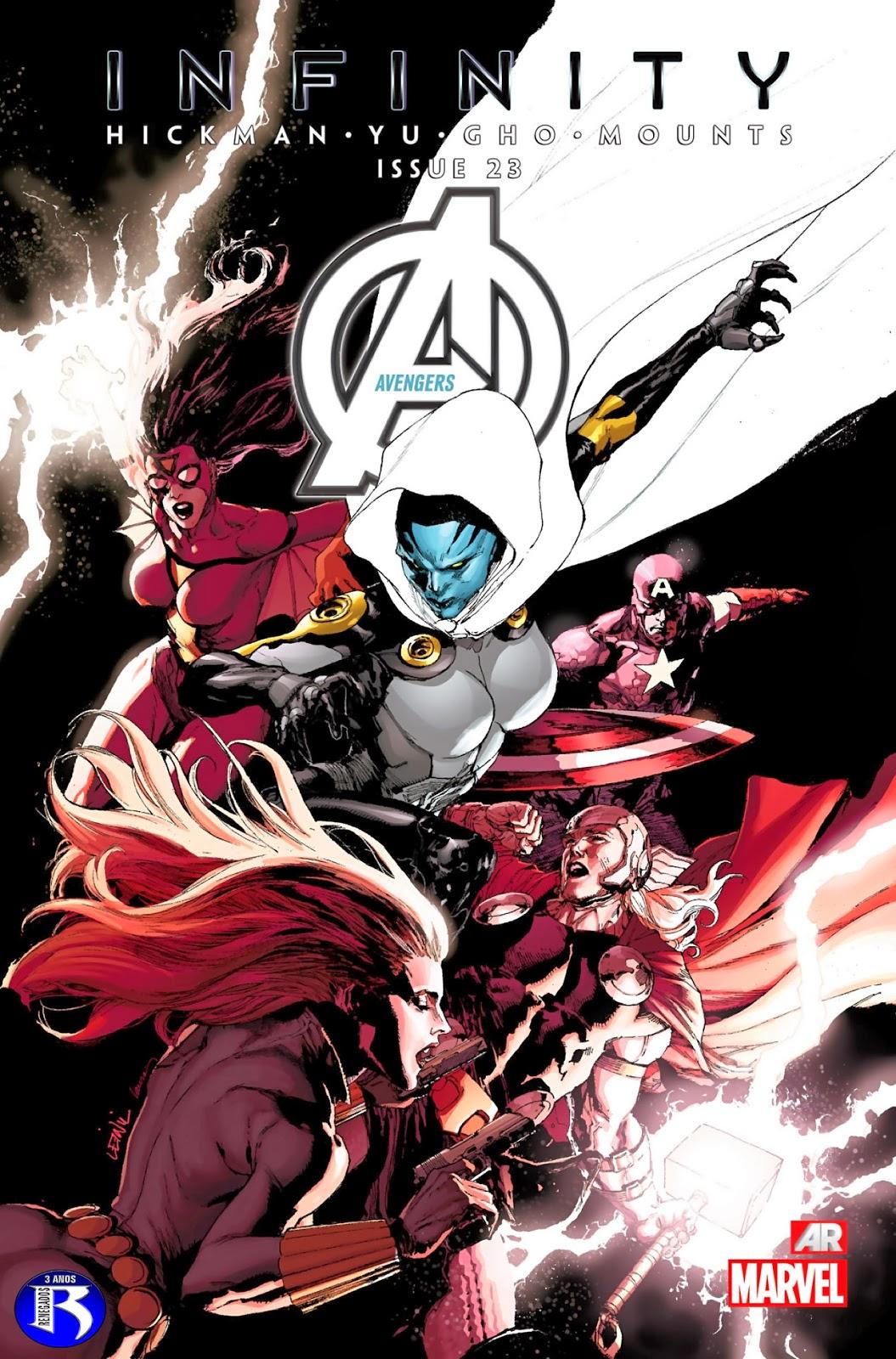 Nova Marvel! Vingadores v5 #23