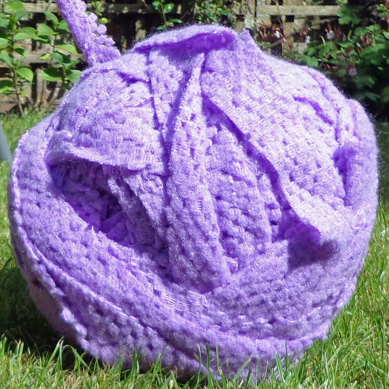 Extreme Knitting Blanket Pattern : Hippystitch: Extreme Knitting on Extreme Needles