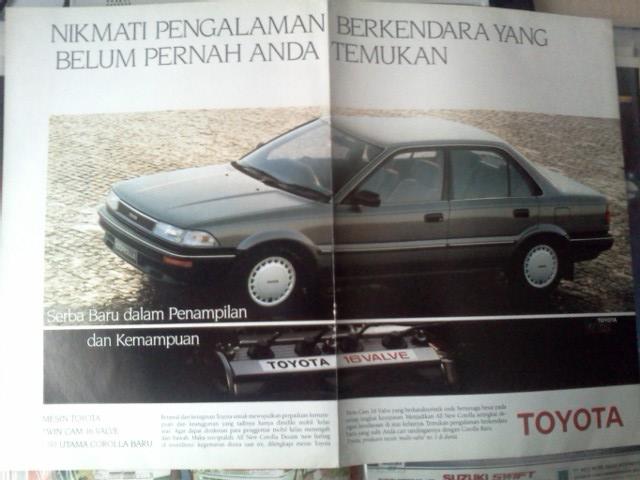 Iklan: Toyota Corolla Twincam