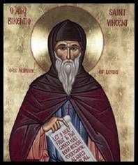 San Vicente de Lerins, Padre de la Iglesia