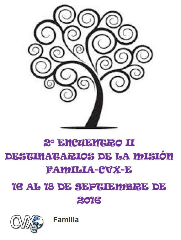 2º Encuentro de los II destinatarios Misión Familia CVX-E
