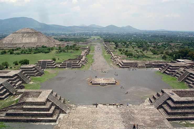 Kota Hilang Teotihuacan