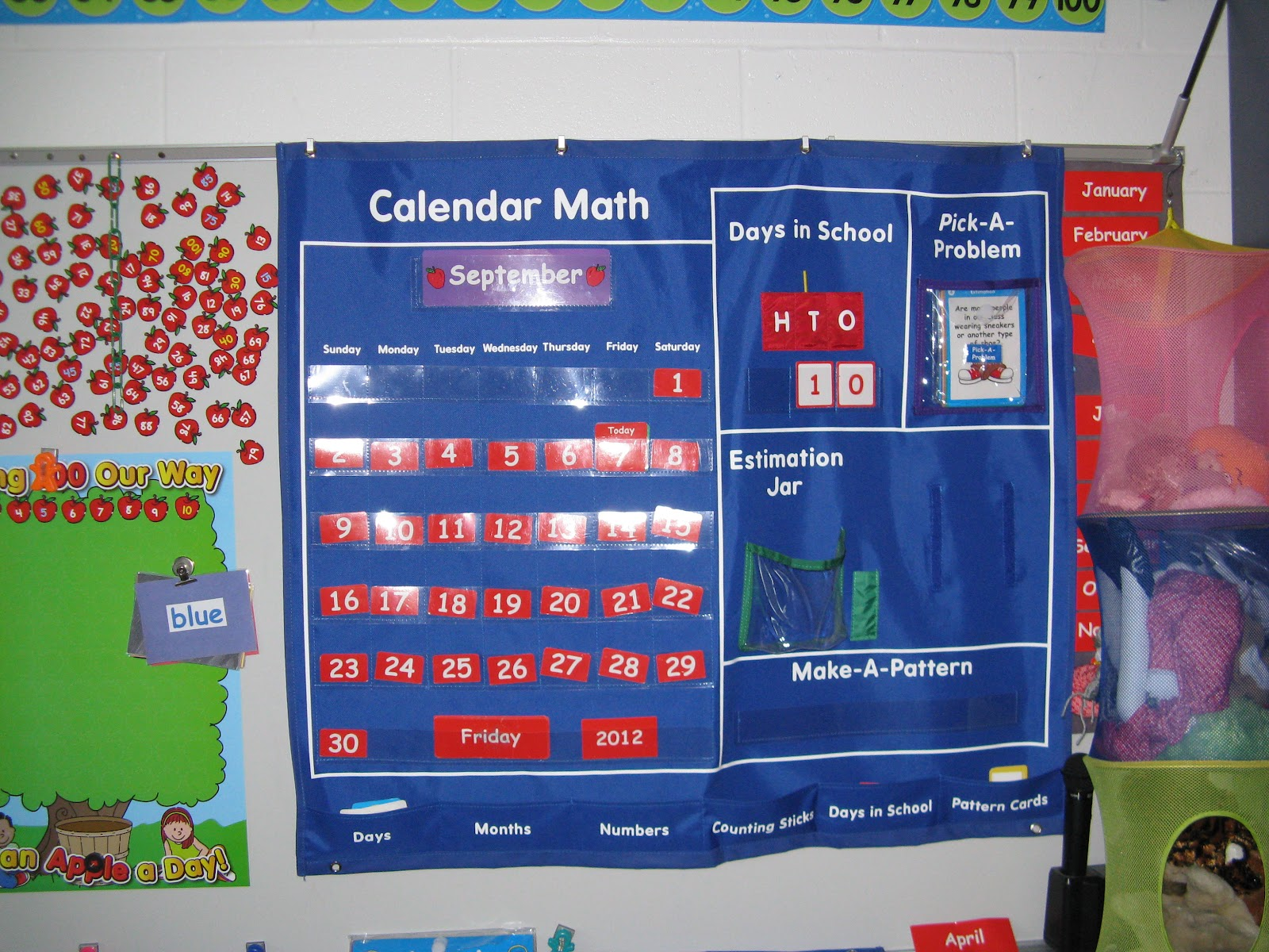 Kindergarten Calendar Math Ideas : Kindergarten adventures at maple elementary calendar math
