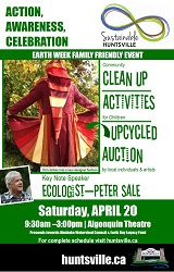 Huntsville Earth Day 2013 Poster.