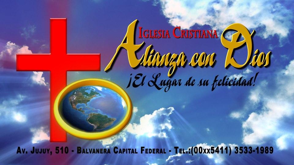IGLESIA CRISTIANA ALIANZA CON DIOS